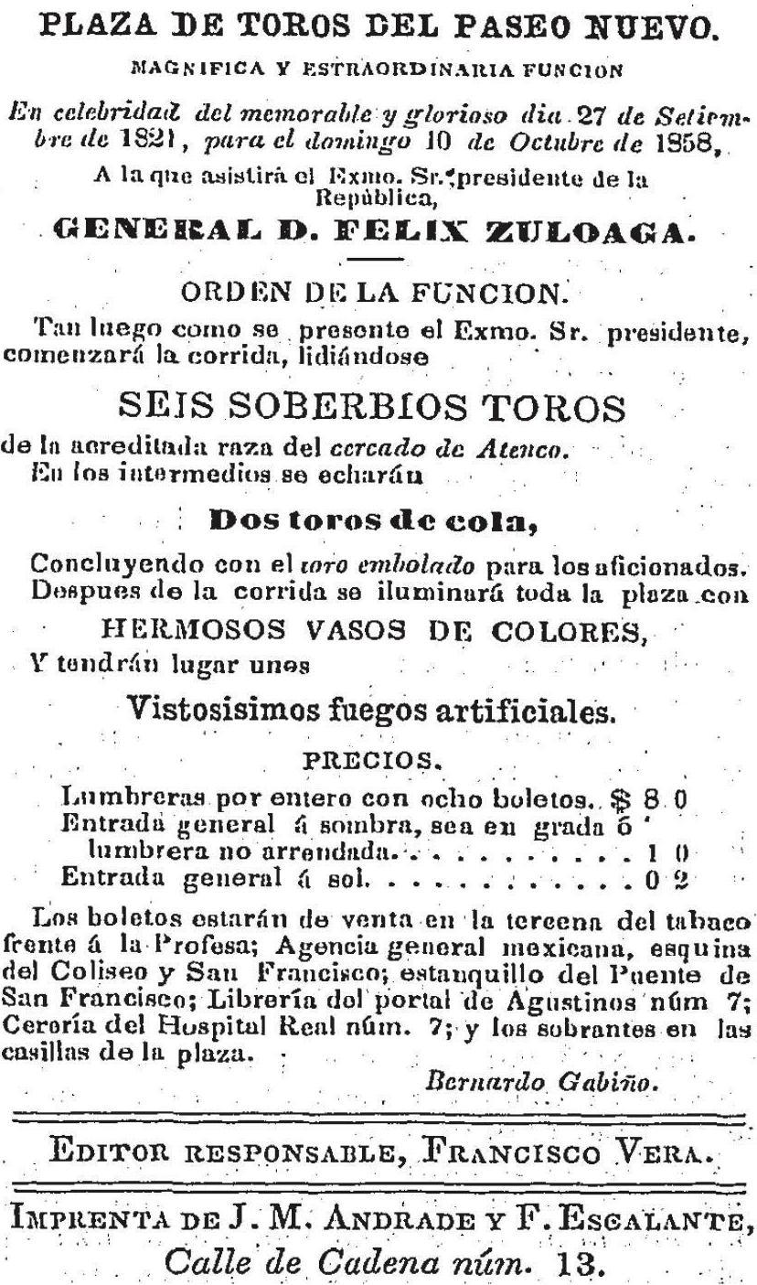 José Francisco Coello Ugalde | Aportaciones Histórico Taurinas ...