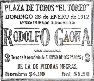 CARTEL_28.01.1912_R. GAONA