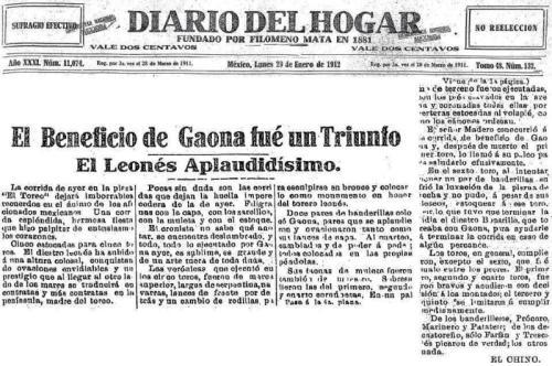 EL DIARIO DEL HOGAR_29.01.1912_p. 1 y 4