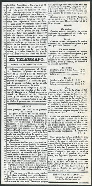 EL TELÉGRAFO_22.03.1833_p. 4