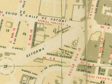 PLAZAS DE TOROS DEL COLISEO Y DEL PASEO_PLANO DE 1889