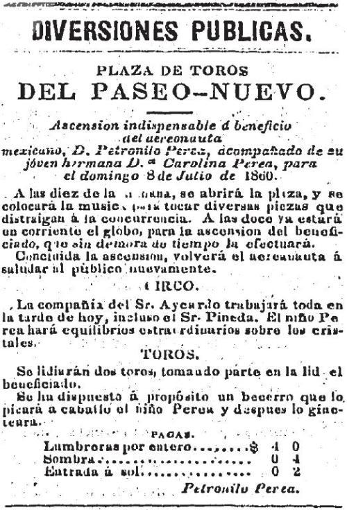 CARTEL_P. NUEVO_07.07.1860_PETRONILO PEREA