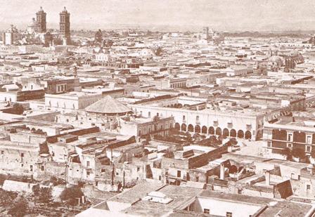 VISTA PANORÁMICA PUEBLA_Ca. 1900