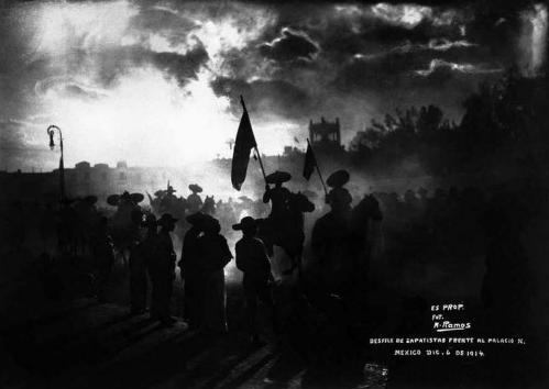 DESFILE ZAPATISTA_06.12.1914
