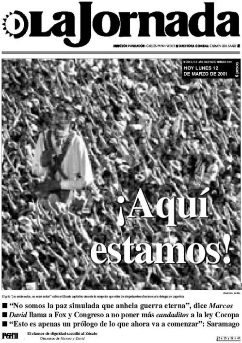 LA JORNADA_12.03.2001_PORTADA