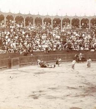 INTERIOR PLAZA DE TOROS TOLUCA_Ca. 1890