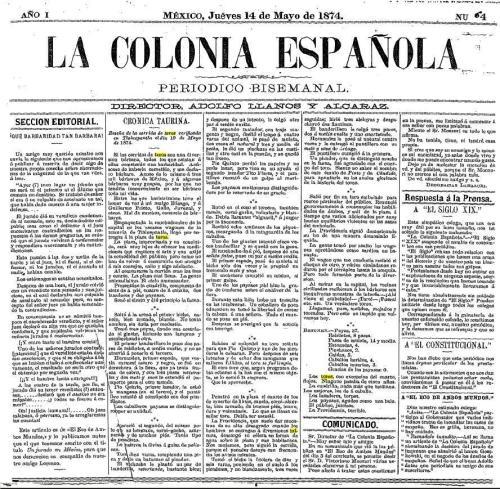 LA CRÓNICA ESPAÑOLA_14.05.1874_P. 1