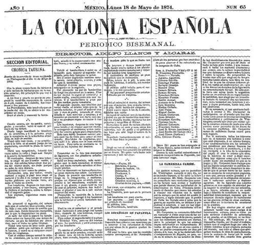 LA CRÓNICA ESPAÑOLA_18.05.1874_P. 1