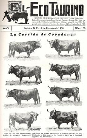 CORRIDA DE ATENCO, FEB. 1930