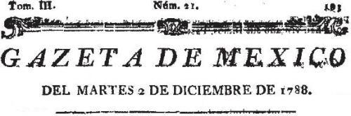 GAZETA DE MÉXICO_02.12.1788