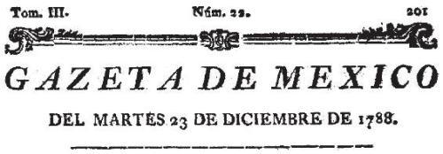 GAZETA DE MÉXICO_23.12.1788