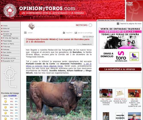 LOS DE BARRALVA PARA EL DOMINOGO 01.12