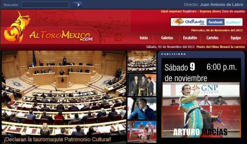 TAUROMAQUIA EN ESPAÑA_PCI_08.11.2013_2