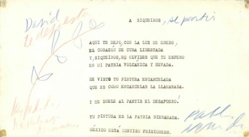A SIQUEIROS_PABLO NERUDA