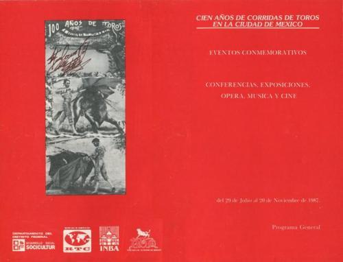 PROGRAMA FESTEJOS 1887-1987