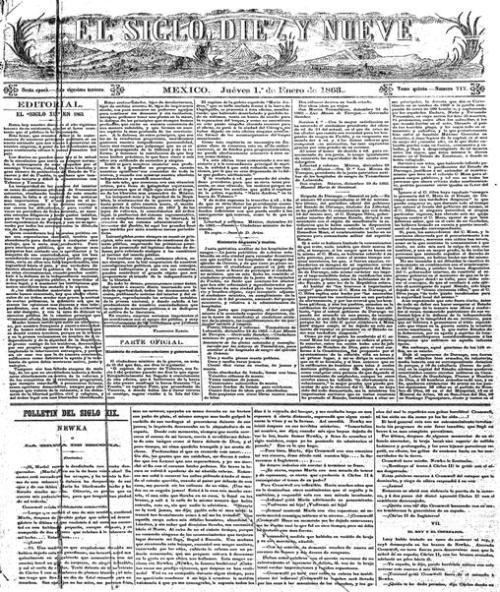 El Siglo XIXbis