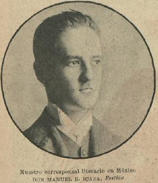 MANUEL E. ICAZA