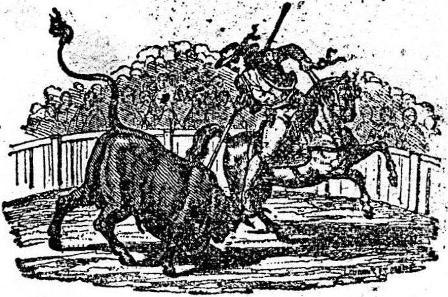 GRABADO EN UN CARTEL TAURINO_15.12.1850_PUEBLA