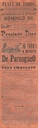 CARTEL_20.02.1887_S. RAFAEL_P. DÍAZ_PARANGUEO