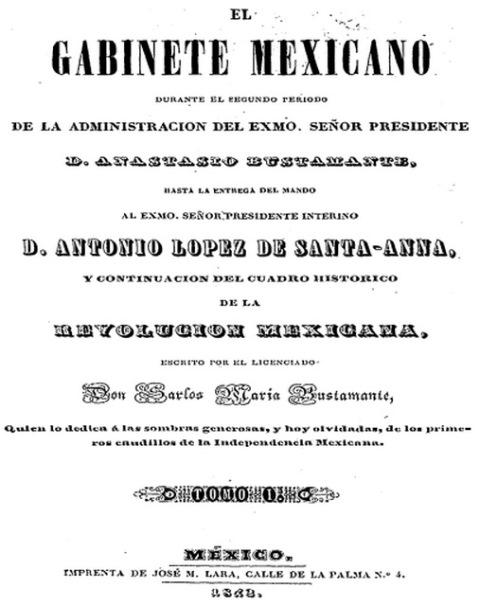 EL GABINETE MEXICANO