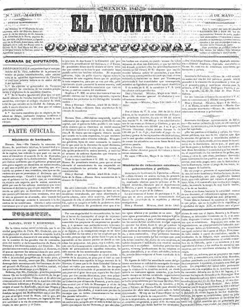 EL MONITOR CONSTITUCIONAL_06.05.1845