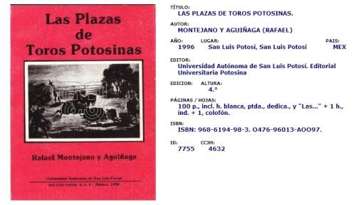 LAS PLAZAS DE TOROS POTOSINAS