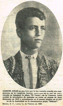 SAMUEL SOLÍS