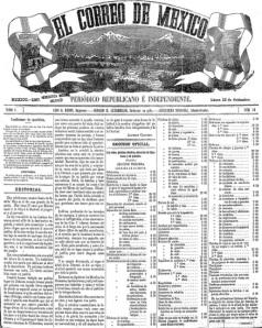 EL CORREO DE MÉXICO_16.09.1867
