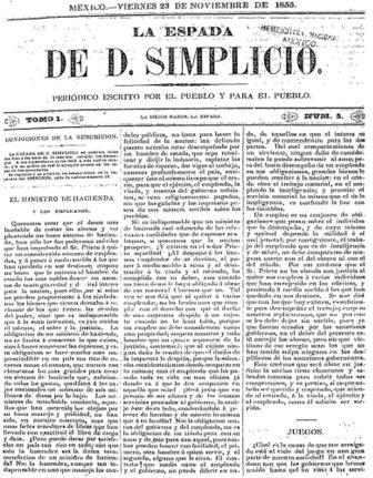 LA ESPADA DE D. SIMPLICIO_23.11.1855