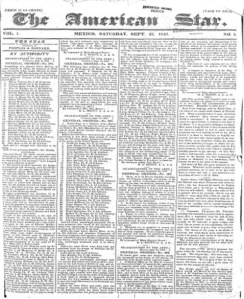 THE AMERICAN STAR_23.09.1847