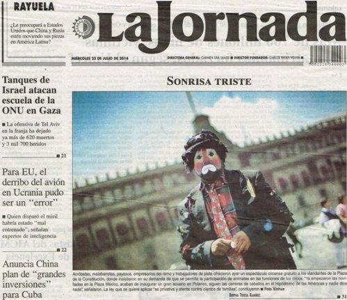 LA JORNADA_23.07.2014_p. 36bis
