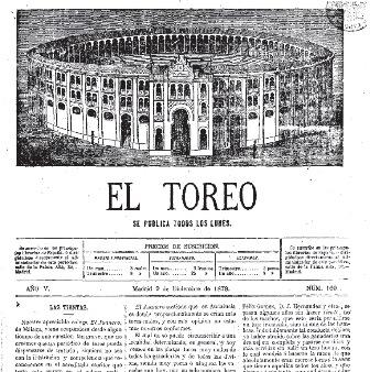 EL TOREO_09.12.1878_PORTADA