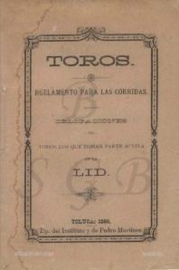 REGLAMENTO PARA LAS CORRIDAS_TOLUCA 1886