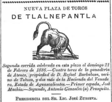 CARTEL_21.02.1886_TLALNEPANTLA_JOSÉ MACHÍO_ATENCO y VENADERO