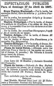 CARTEL_17.04.1887_COLÓN_JUAN LEÓN Y ANTONIO GONZÁLEZ_ATENCO