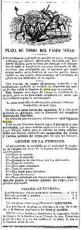 B. GAVIÑO 08.12.1867. CARTEL BIS