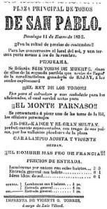 CARTEL_P. de T. SAN PABLO_11.01.1852