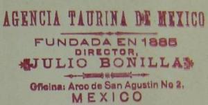 AGENCIA TAURINA DE MÉXICO