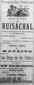 CARTEL_01.02.1885_EL HUISACHAL y TEXCOCO