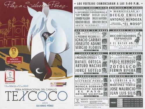PROGRAMA FERIA TEXCOCO 2015
