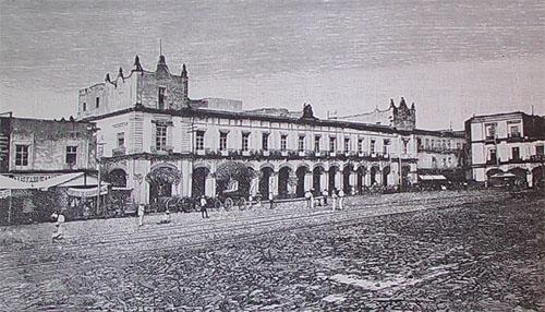 EDIFICIO DEL AYUNTAMIENTO_Ca. 1860