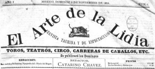 EL ARTE DE LA LIDIA_CABECERA