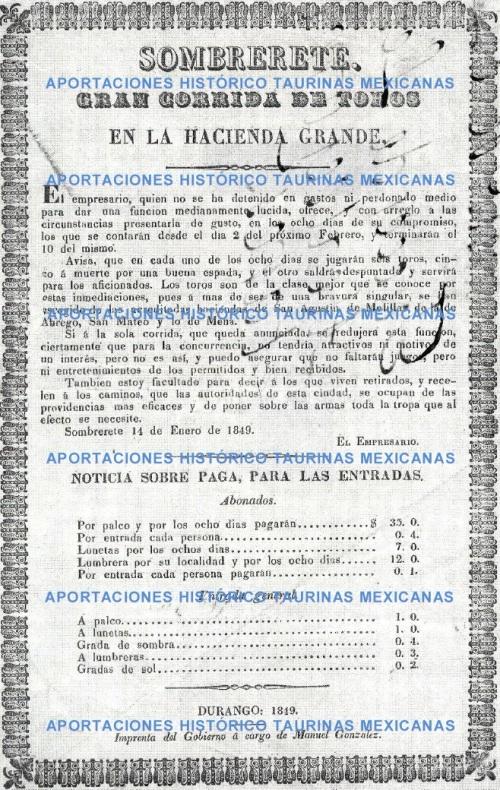 SOMBRERETE_FEBRERO 1849