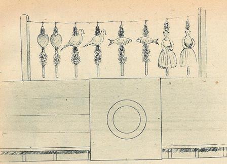 ZARZO DE BANDERILLAS USADO EN 1885