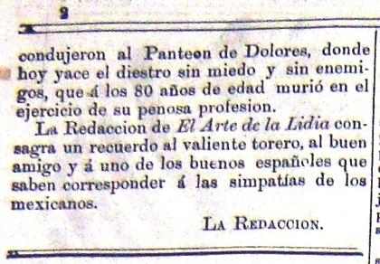 EL ARTE DE LA LIDIA_N° 9_28.02.1886_p. 2 detalle