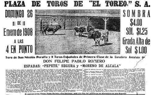 TOROS PABLO ROMERO_1908
