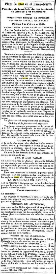 CARTEL_04.02.1855_PASEO NUEVO_BGyR_ATENCO y CAZADERO