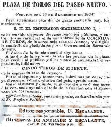 CARTEL_16.09.1864_PASEO NUEVO_BGyR_ATENCO