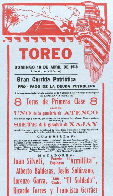 cartel_p-de-t-el-toreo_10-04-1938_beneficio-pago-deuda-petrolera